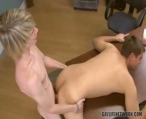 Twink project partners end up fucking