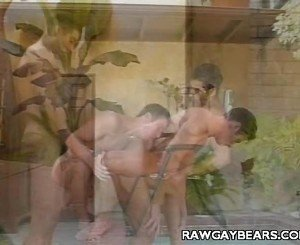 Homosexual Cubs Outdoor Blowjob