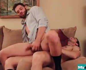 The Gay Office - Gay Anal Sex & Cock Massage Movies 04