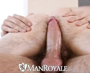 HD - ManRoyale Guy gets to fucked his masseur
