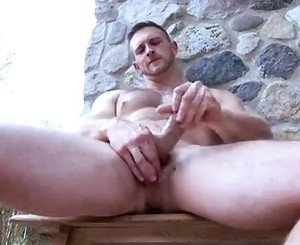 Paul Wagner solo masturbation and cumshot
