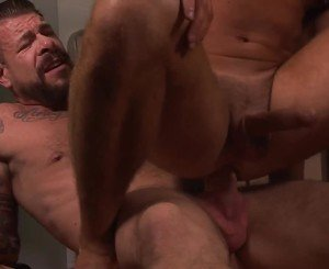 Rocco Steele and Logan Moore