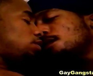 Extreme Ghetto Gays Threesome Sex Scene