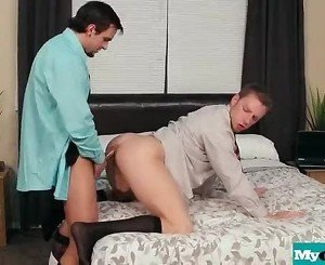 The Gay Office - Gay Anal Sex & Cock Massage Movies 02