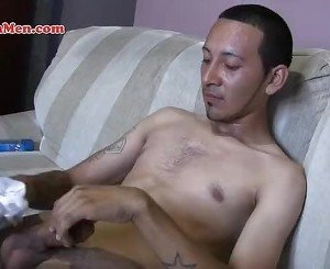 Latin men with uncut cocks