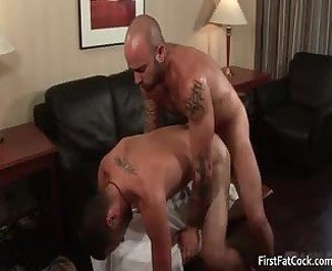 Sexy Tattooed Gay Dude Gets Cock Sucked 4 By FirstFatCock