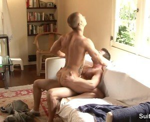 Lusty gays gives oral sex and gets fucked