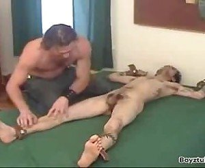 Damiano Jerked & Tickled