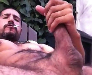 Outdoor Jerk Off & Cum