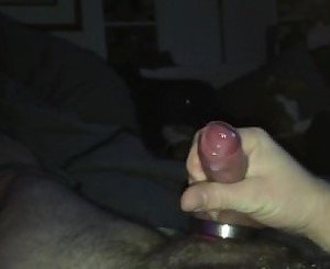Creamy Cumshot with Cockring