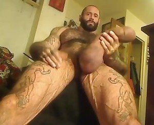 Muscle, Tatts, and 10 lbs of silicone (2)